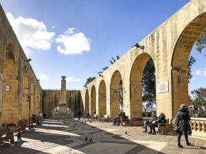 Cosa vedere a Valletta: gli Upper Barrakka Gardens