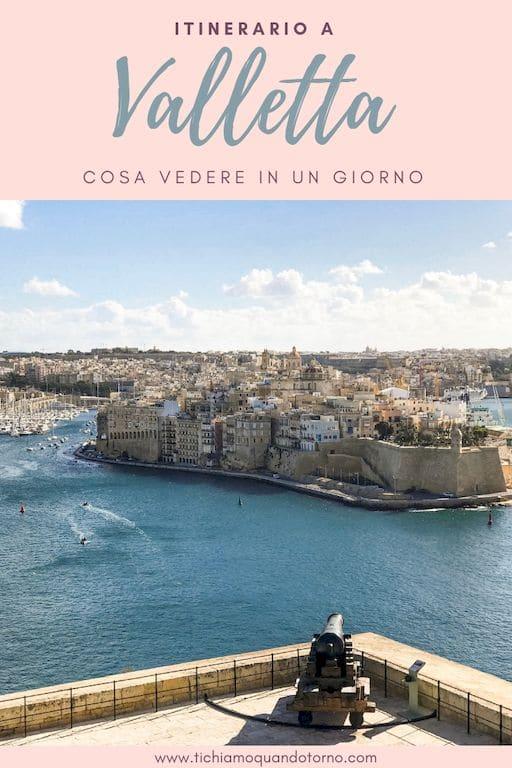 Cosa vedere a Valletta in un giorno: itinerario a piedi nella fiera capitale maltese, patria dei Cavalieri di Malta e oggi città Patrimonio dell'Umanità UNESCO.  #valletta #malta #unesco #isole #itinerario #mediterraneo #cosavedere #travel #viaggiare