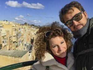 Selfie a Valletta!