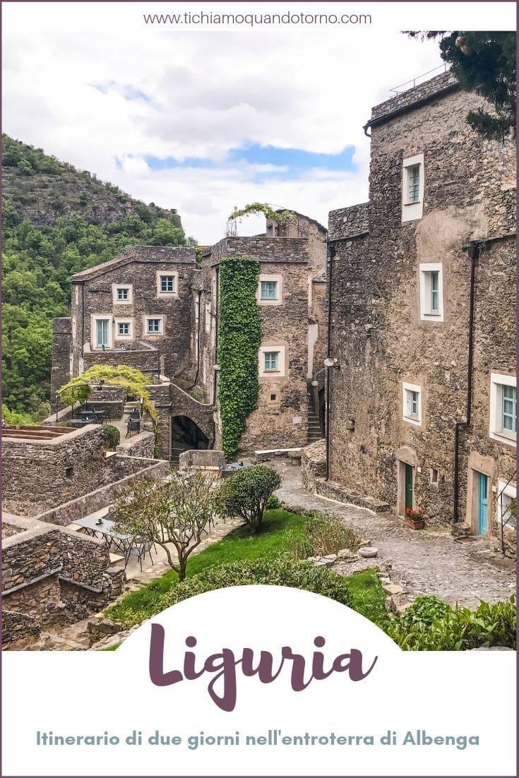 itinerario tra i borghi liguri dell'entroterra di Albenga