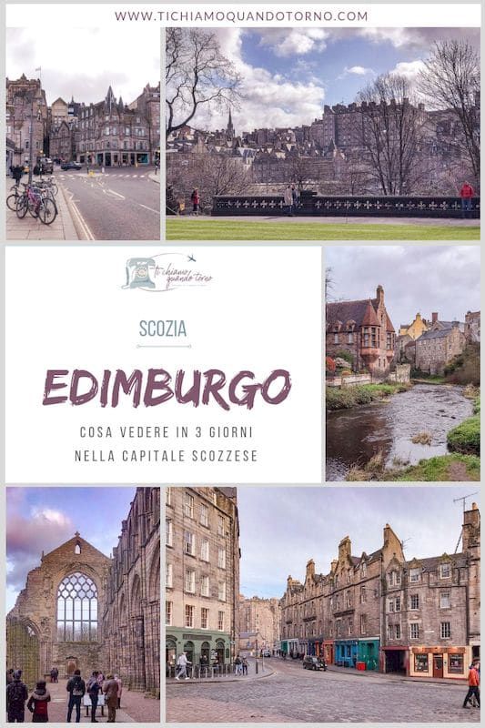 Edimburgo itinerario weekend