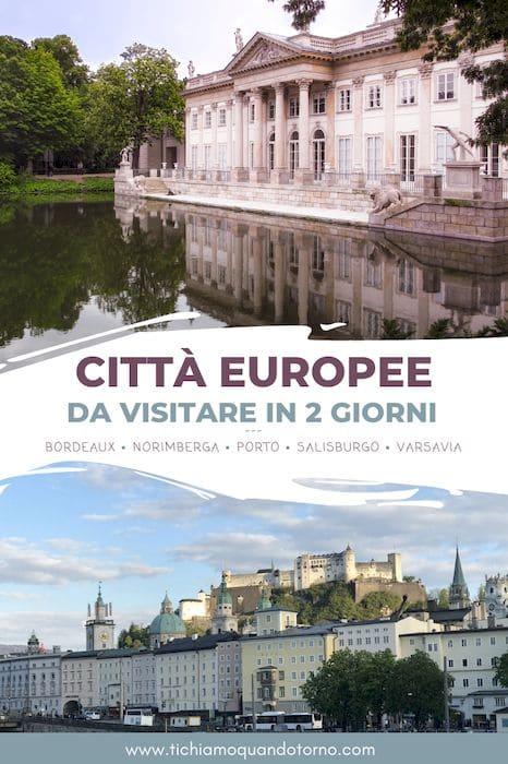 Città europee da weekend
