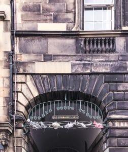 Un close di Edimburgo