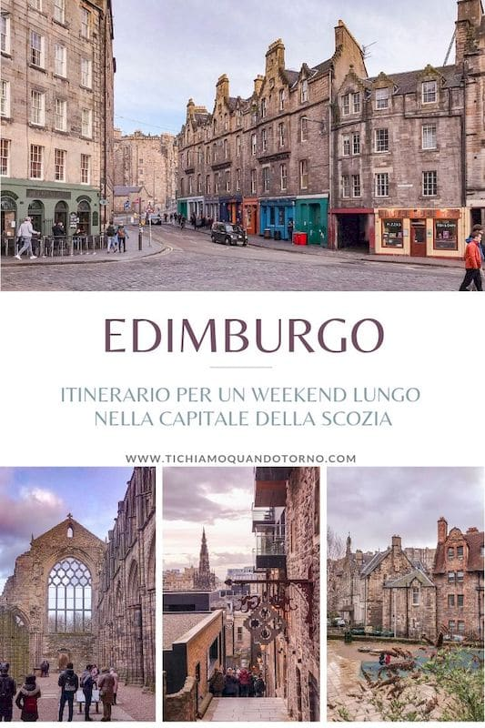 Edimburgo: cosa vedere nella capitale della Scozia. Itinerario di visita per un weekend lungo alla scoperta dei quartieri di Old Town, New Town, Leith e Dean Village.