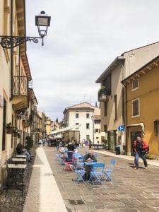 Il centro storico di Soave