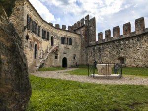 La casa del Capitano nel castello di Soave