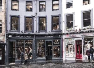 Vetrine in Victoria Street