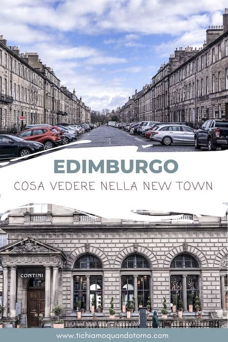 New Town Edimburgo cosa vedere