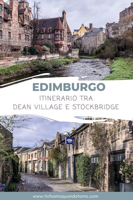 dean village e stockbridge itinerario