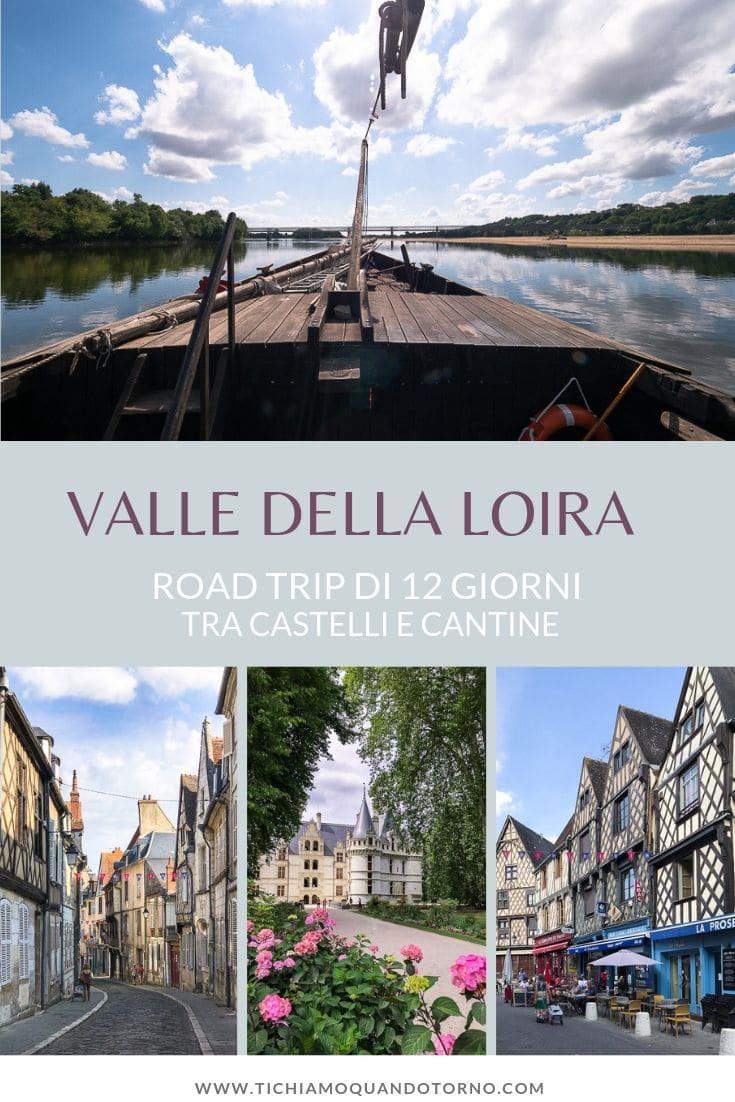 Loira itinerario
