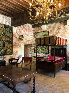 La camera da letto di Leonardo a Clos Lucé