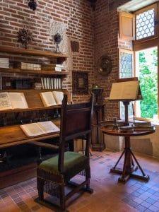 Lo studio di Leonardo a Clos Lucé