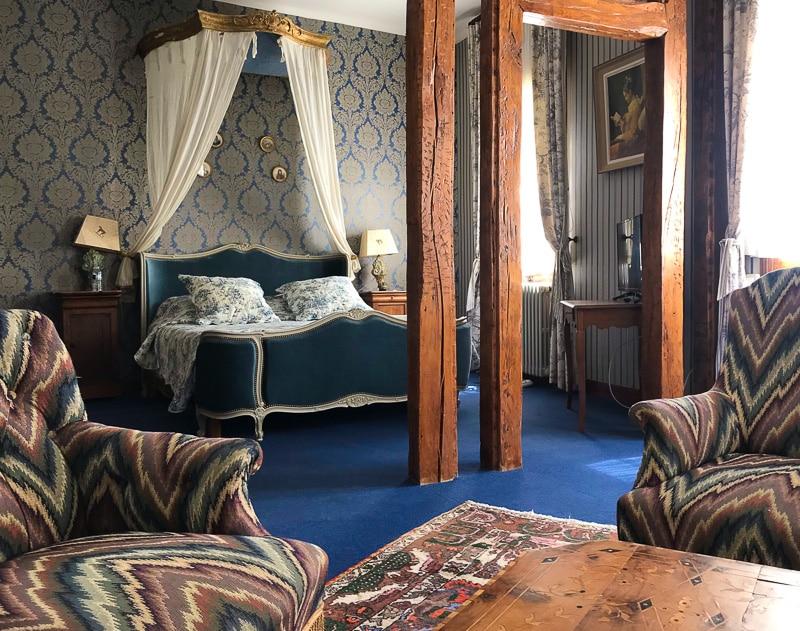 Camera del B&b Patio&spa a Saumur