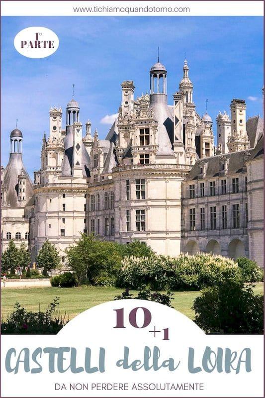I migliori Castelli della Loira