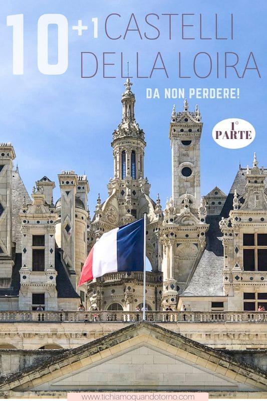 Castelli della Loira da visitare