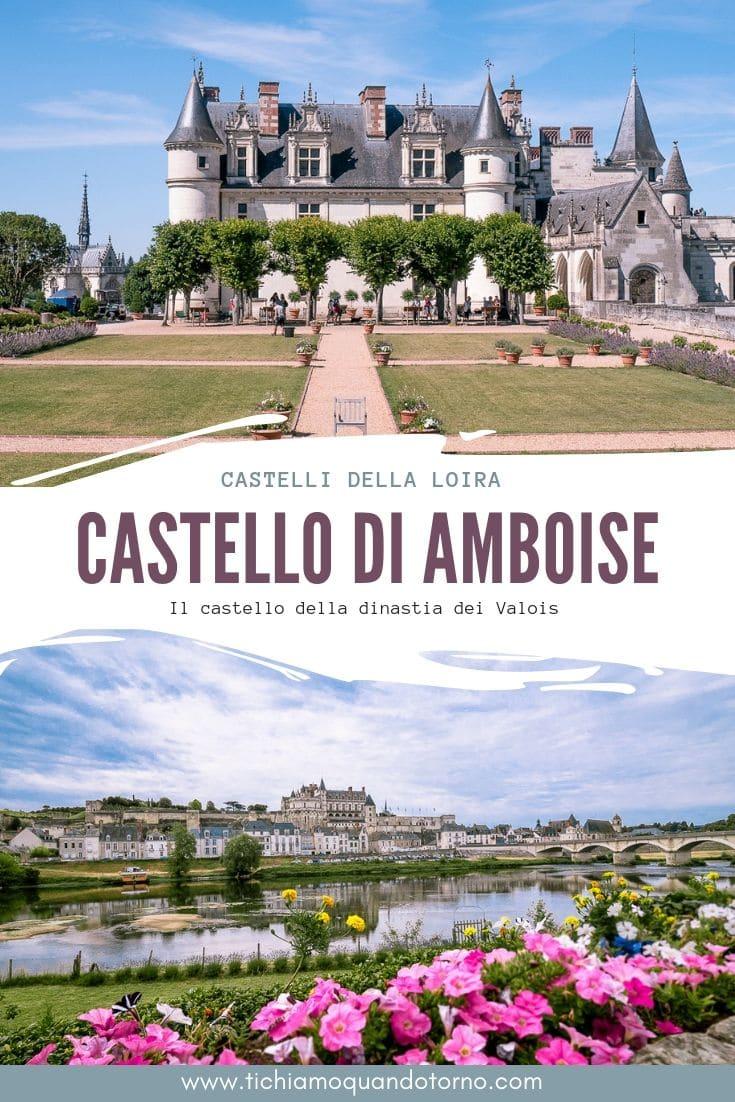 Ilcastello di Amboise, situato nell'omonima cittadina nel dipartimento dell'Indre e Loira, è uno dei castelli più importanti di Francia. Residenza di grandi re e artisti come Leonardo, è una tappa imperdibile di un viaggio nella Loira. #amboise #francia #france #loira #castelli #chateau #loire #castle