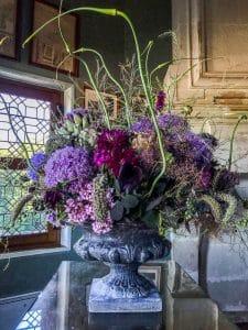 Una composizione floreale