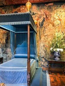 La camera di Diana di Poitiers a Chenonceau