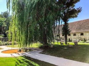 Il giardino Russel Page a Chenonceau