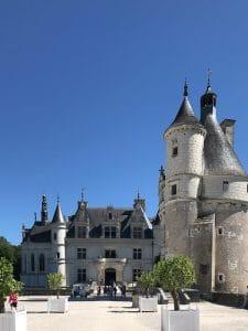 Ingresso del castello di Chenonceau
