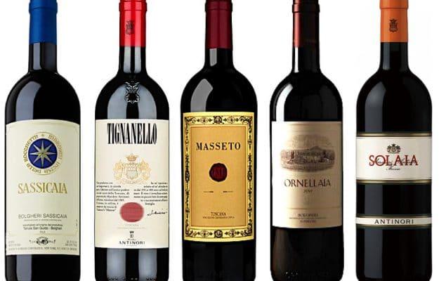 I più celebri Super Tuscan