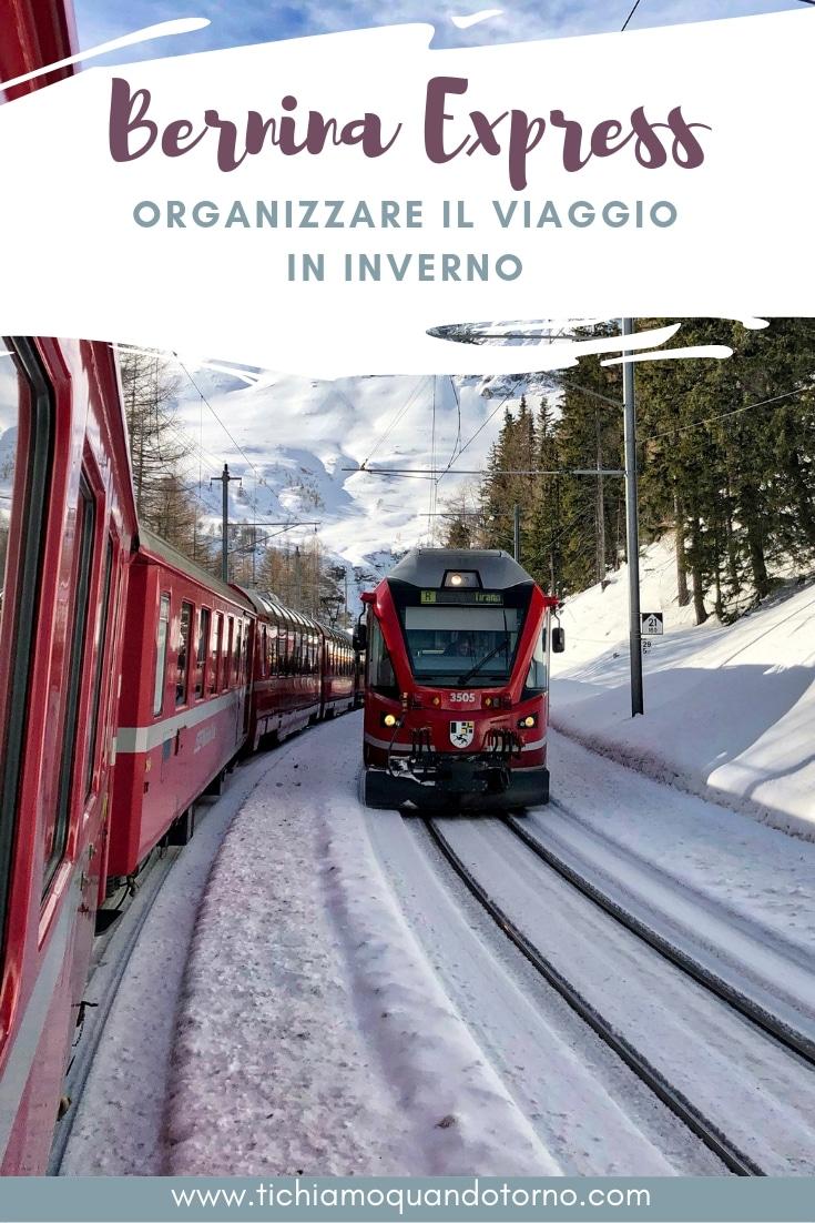 Viaggio sul Bernina express