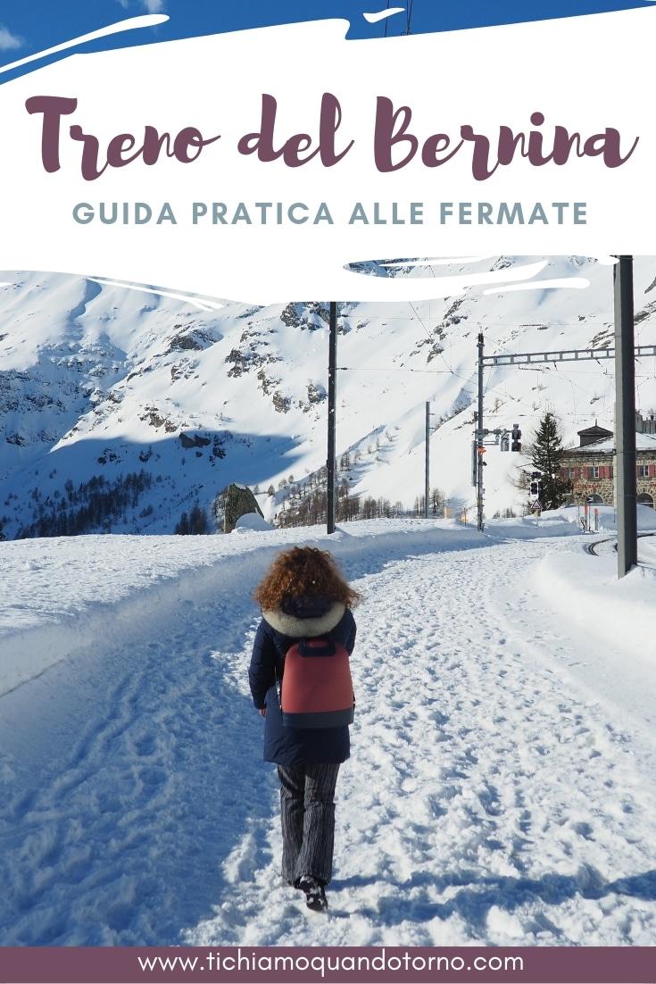 Bernina express: guida alle fermate