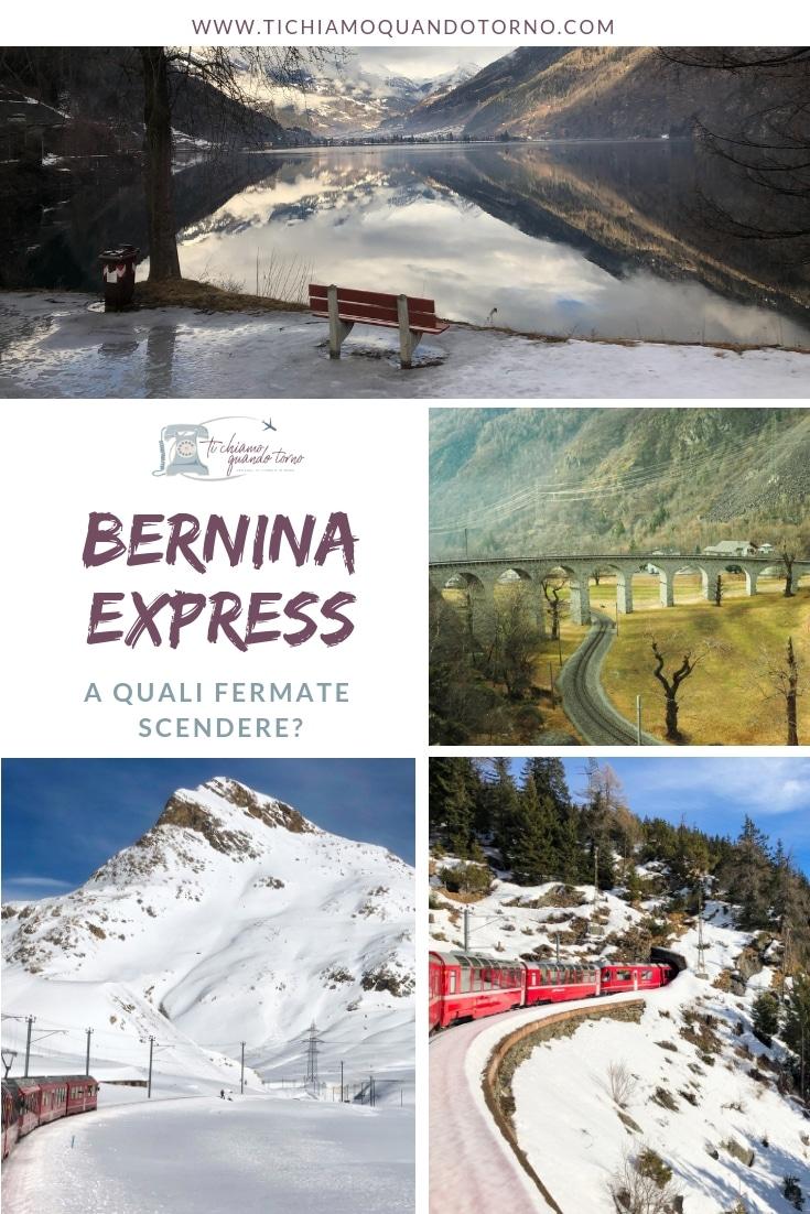 Le migliori fermate del Bernina Express