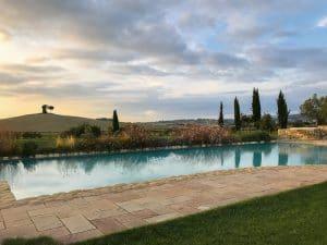 piscina del Relais Sant'Elena