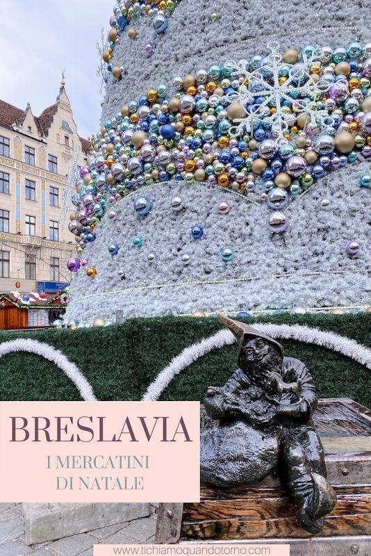 Breslavia mercatini Natale