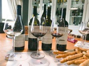 Degustazione dei vini di Donna Olimpia