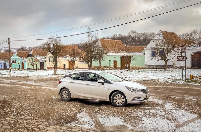 Romania rent car