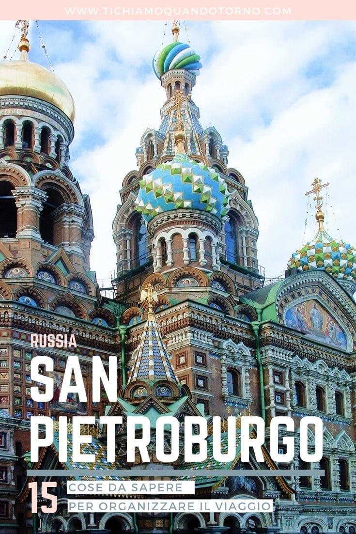 cosa sapere per organizzare viaggio a San Pietroburgo
