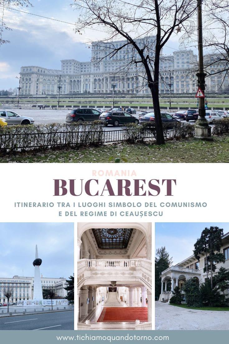 itinerario comunismo bucharest