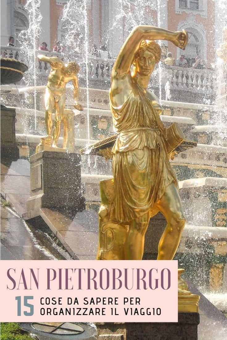 Iorganizzare un viaggio a San Pietroburgo