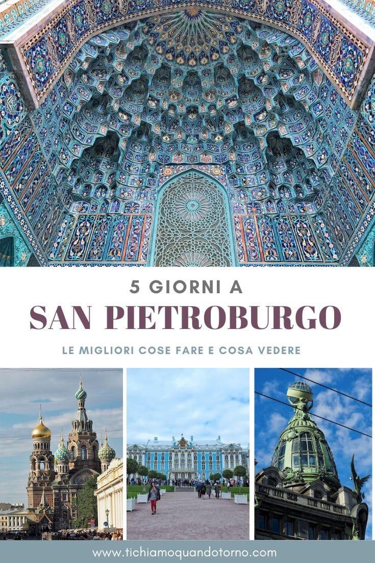 San Pietroburgo in 5 giorni