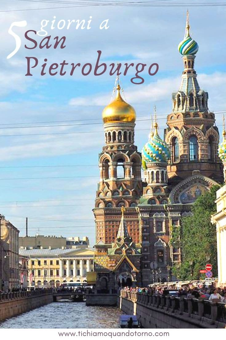 San Pietroburgo: itinerario
