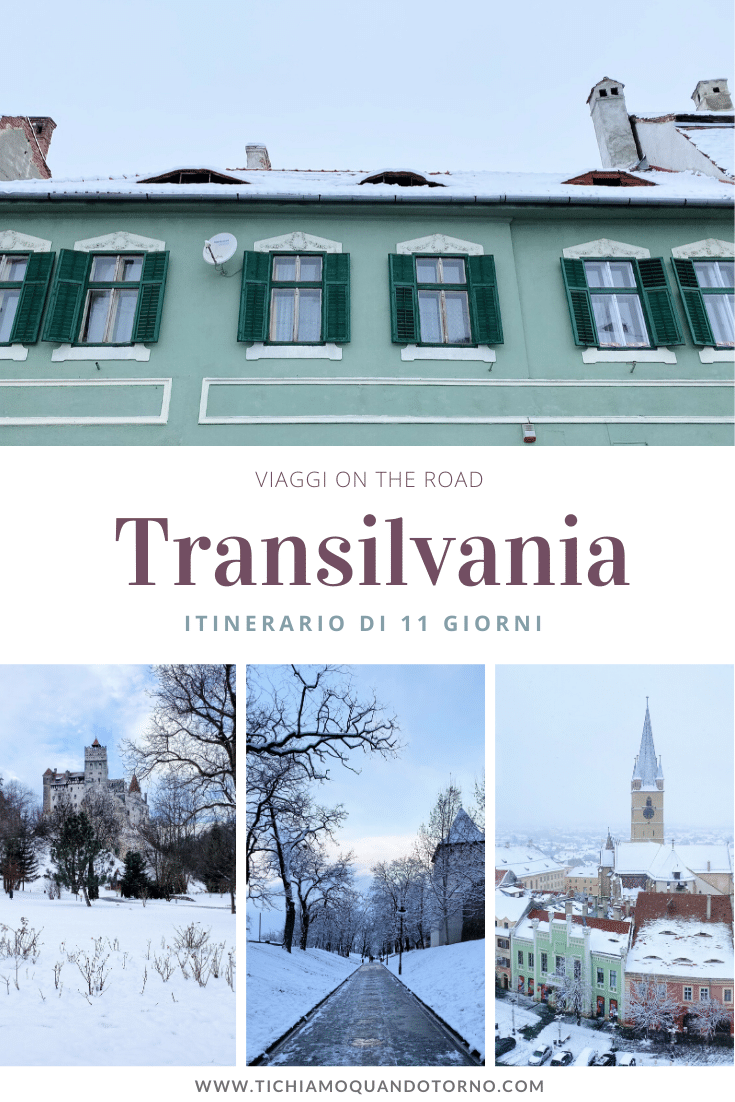 Transilvania itinerario on the road