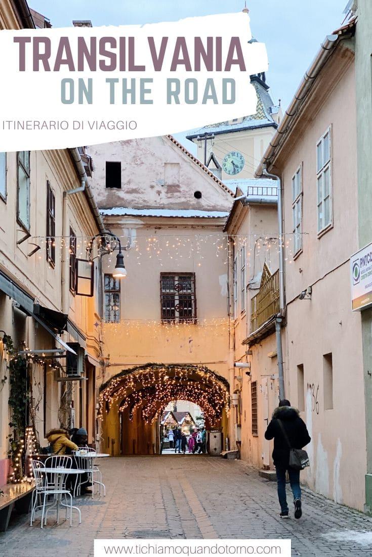 Itinerario Transilvania on the road