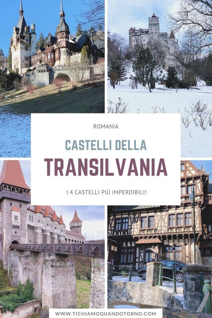I castelli della Transilvania