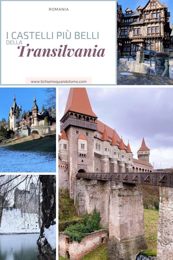 I castelli più belli della Transilvania