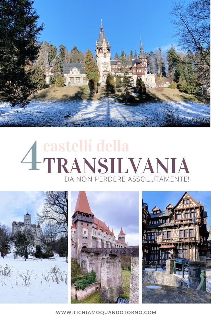 Transilvania castelli più belli