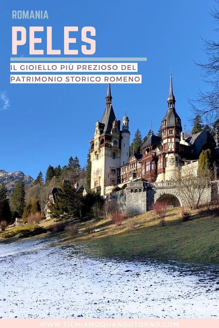 Romania, castello di Peles