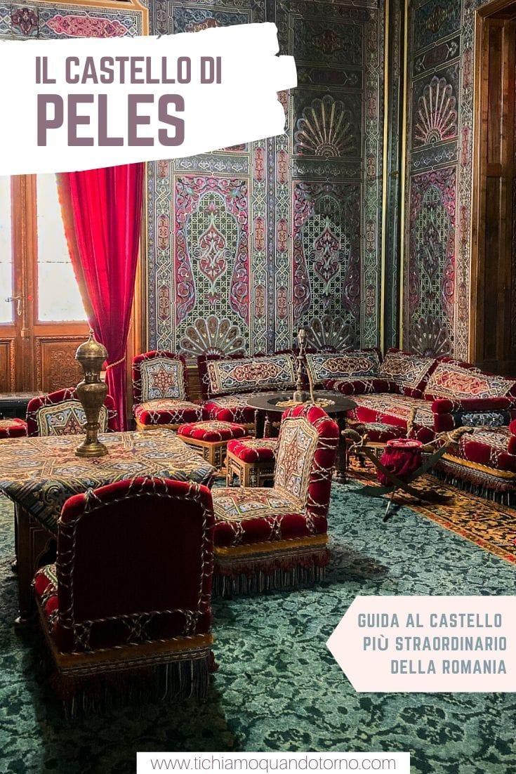 Transilvania: castello di Peles