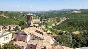 Panorama dal castello di Barolo