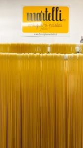 L'essiccazione degli spaghetti