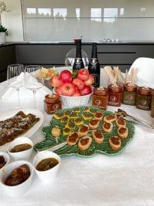 Degustazione di chiocciole da Arcenni Tuscany