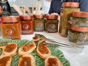 Alcuni dei prodotti lavorati di Arcenni Tuscany