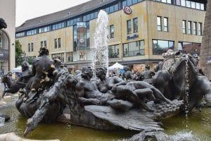 Fontana Ehekarussell a Norimberga1