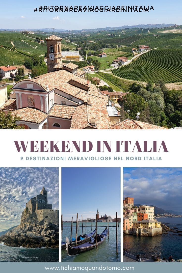 Weekend Italia del nord